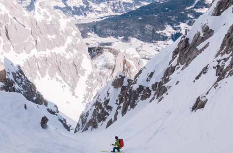 Skitour sci alpinismo - Alpinschule Drei Zinnen Tre Cime Dolomiti (23)