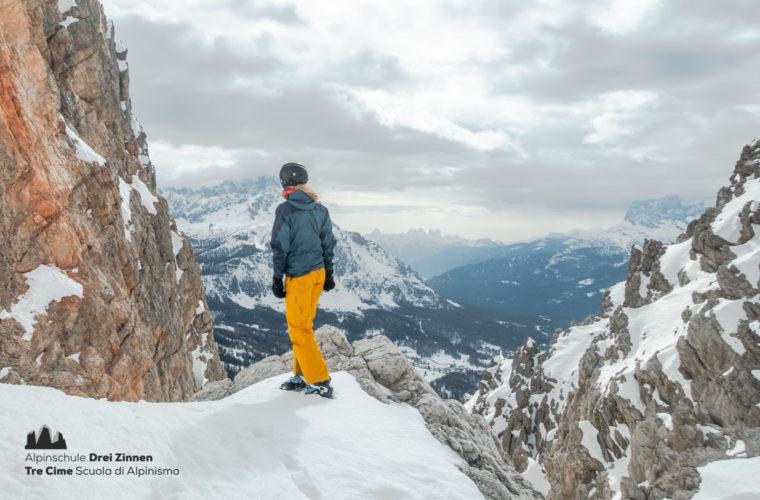 Skitour sci alpinismo - Alpinschule Drei Zinnen Tre Cime Dolomiti (25)