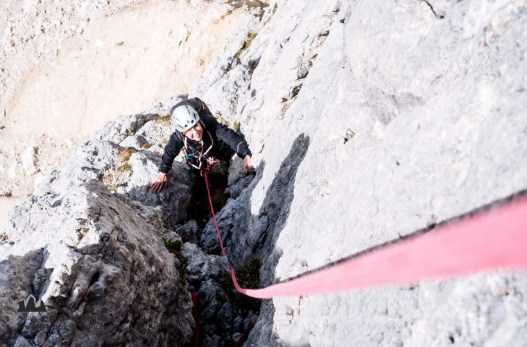 Lagazuoi - via del Buco - Alpinschule Drei Zinnnen (2)