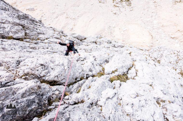Lagazuoi - via del Buco - Alpinschule Drei Zinnnen (4)