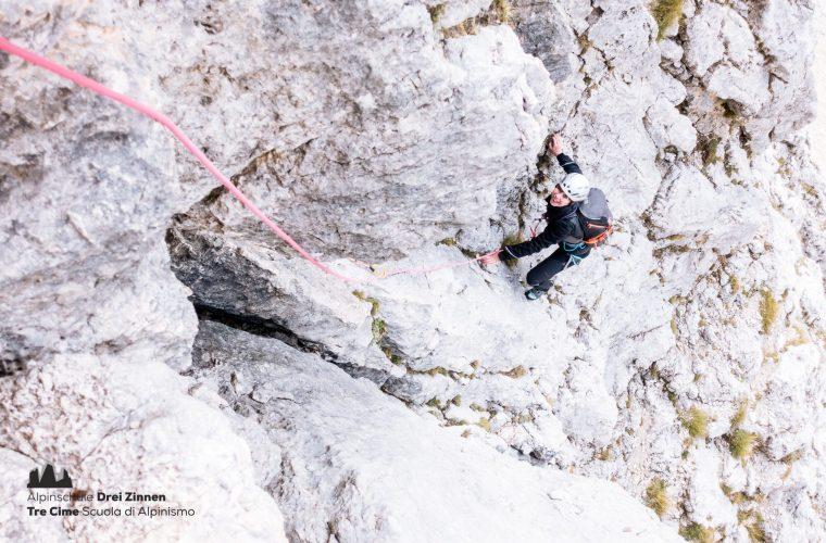 Lagazuoi - via del Buco - Alpinschule Drei Zinnnen (6)