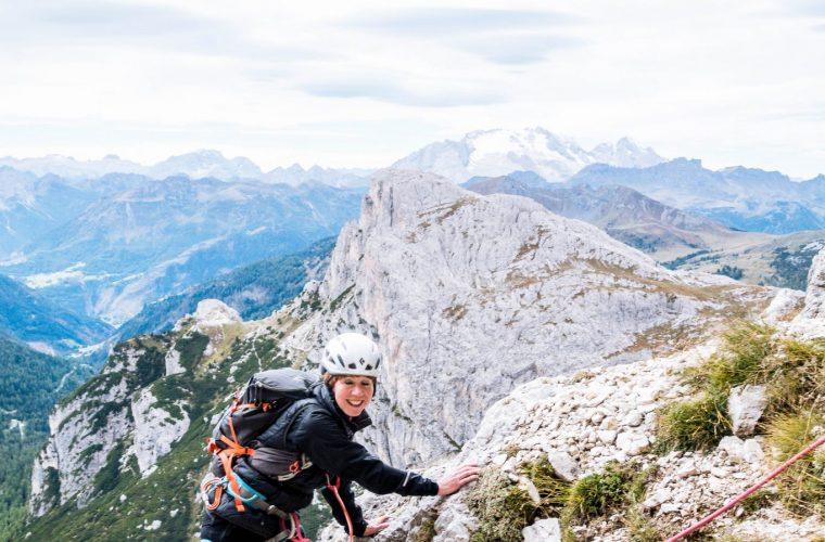 Lagazuoi - via del Buco - Alpinschule Drei Zinnnen (9)